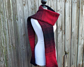 Oversized Scarf Mens Scarf Winter Scarf Womens Scarf - Double Knit Scarf - Fall Fashion Winter Accessories Knit Accessories