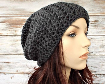 Instant Download Crochet Pattern - Womens Hat Pattern - Crochet Hat Pattern Memphis Slouchy Beanie Pattern - Slouchy Hat Womens