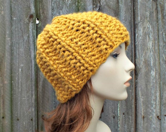 Knitting Pattern - Ribbed Knit Hat Pattern Womens Beanie Pattern Knit Accessories Mens Hat Pattern Instant Download - Twilight Beanie