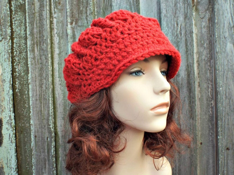 PURPLE RIBBED KNIT NEWSBOY HAT CAP fits American Girl Looks Great!!