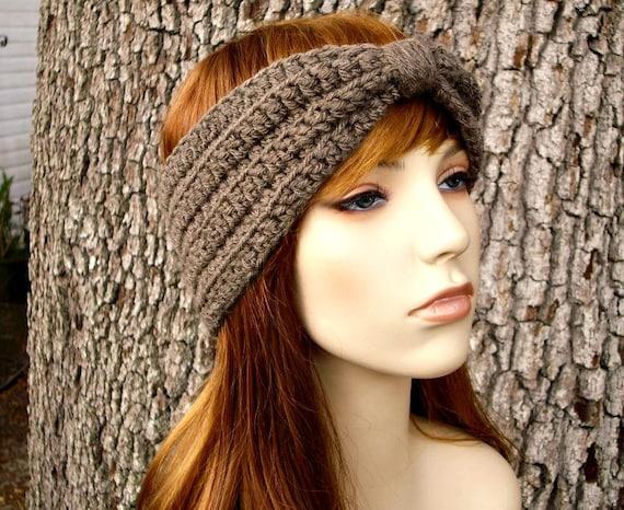 Instant Download Crochet Pattern - Crochet Headband Pattern - Turban Headband and Bow Headband Patterns - 6 Patterns In 1 Womens Accessories