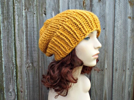 c195a8932d0 Chunky Knit Hat Womens Warm Winter Hat Knit Accessories