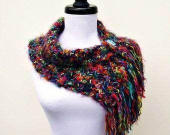 Instant Download Crochet PATTERN PDF - Crochet Cowl Scarf Pattern - Scarflette Cowl Pattern - Crochet Neckwarmer Pattern Womens