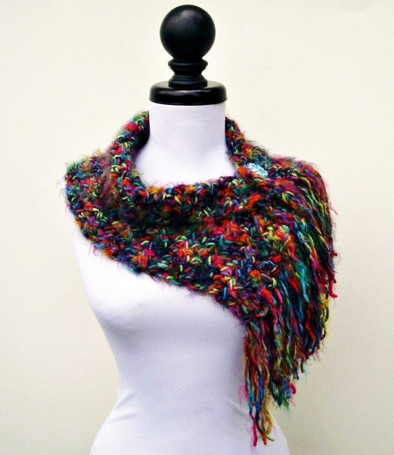 Instant Download Crochet PATTERN PDF - Crochet Cowl Scarf - Scarflette Cowl Pattern - Womens Scarf Pattern Womens Accessories
