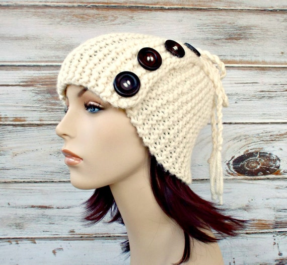 Instant Download Knitting Pattern - Knit Hat Knitting Pattern Cowl Knitting Pattern - Knit Hat Pattern for Sybil Convertible Hat and Cowl
