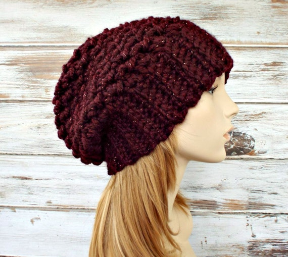 af177166f26 Womens Hat Slouchy Beanie Slouchy Hat Souffle Beret in
