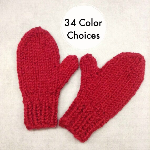 Cranberry Red Mittens Womens Accessories Womens Mittens Adult Mittens Red Gloves