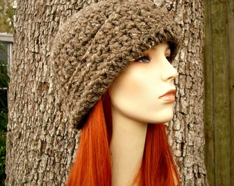 Instant Download Crochet Pattern - Womens Cloche Pattern - Crochet Hat Pattern for Garbo Cloche Hat - Womens Hat - Womens Accessories