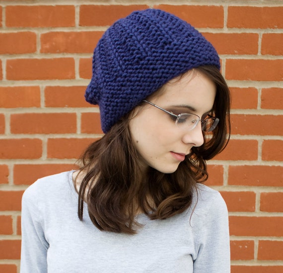 Navy Womens Hat Navy Mens Hat - Imogen Ribbed Beanie Navy Blue Knit Hat - Navy Hat Blue Hat Navy Beanie Womens Accessories Winter Hat