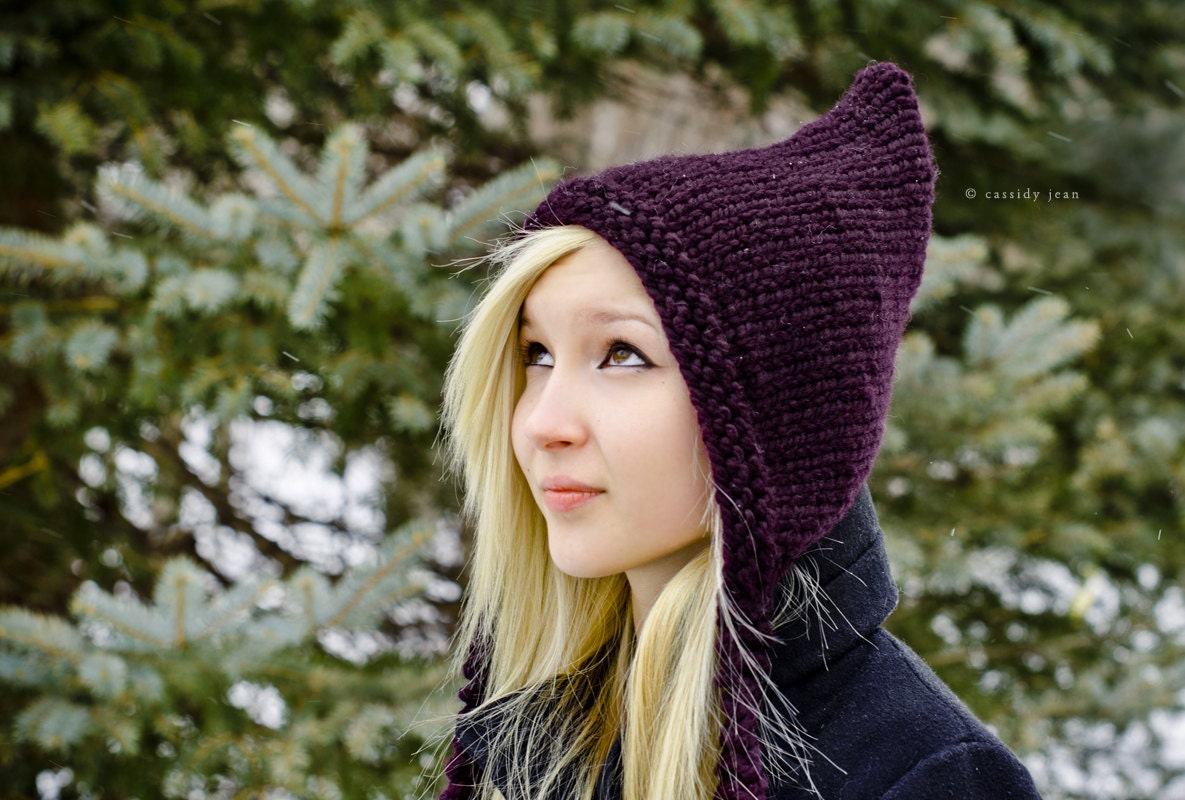 Instant Download Knitting Pattern - Knit Hat Pattern Signature ...