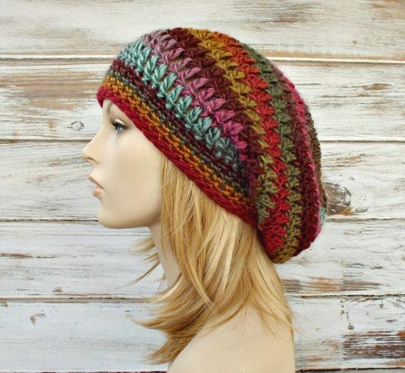 Instant Download Crochet Pattern - Hat Crochet Pattern - Womens Crochet Hat Pattern Weekender Slouchy Hat - Womens Hat - Womens Accessories
