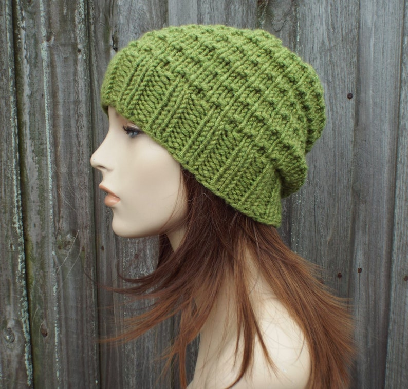 How To Knitting Tutorial PDF Pattern Moira Beanie Knit Hat Pattern Womens Hat Mens Hat Easy Knitting Patterns For Hats