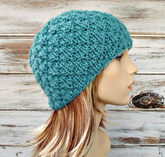 Instant Download Knitting Pattern - Womens Hat Pattern Mens Hat Pattern Knit Hat Pattern - Iotla Valley Beanie Pattern Womens Beanie