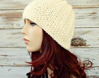 Instant Download Knitting Pattern - Knit Hat Knitting Pattern - Knit Hat Pattern for Imogen Beanie Womens Hat Pattern - Womens