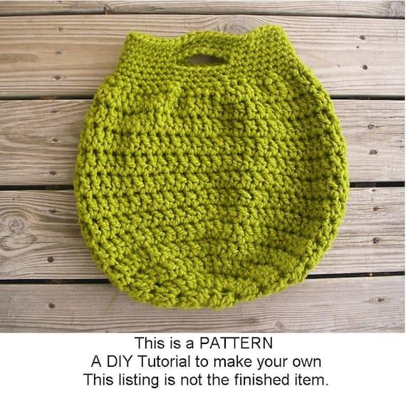 Instant Download Crochet Pattern PDF - Crochet Bag Pattern PDF for Boardwalk Tote Bag Pattern - Womens Bag Pattern Womens Accessories