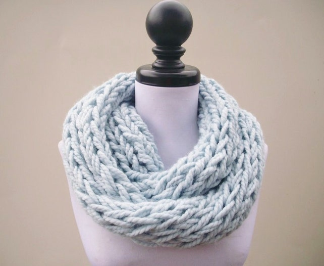 Instant Download Knitting Pattern Infinity Scarf Knitting Etsy