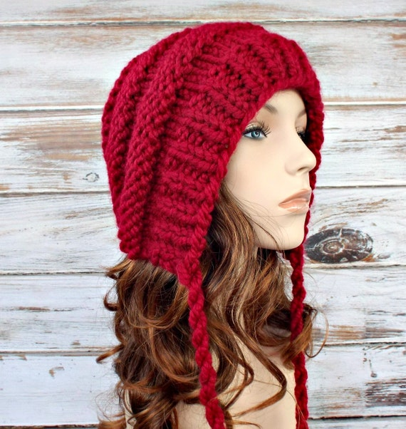 Instant Download Knitting Pattern Knit Ear Flap Hat Knit Etsy