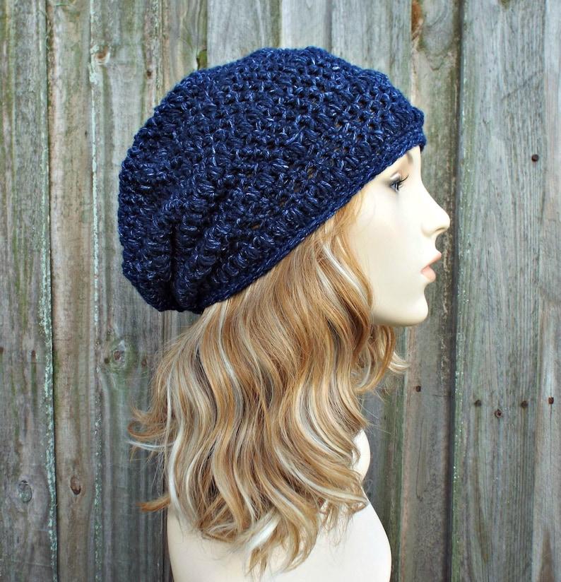 53946079b89b05 Crochet Hat Womens Hat Penelope Puff Stitch Slouchy Beanie   Etsy