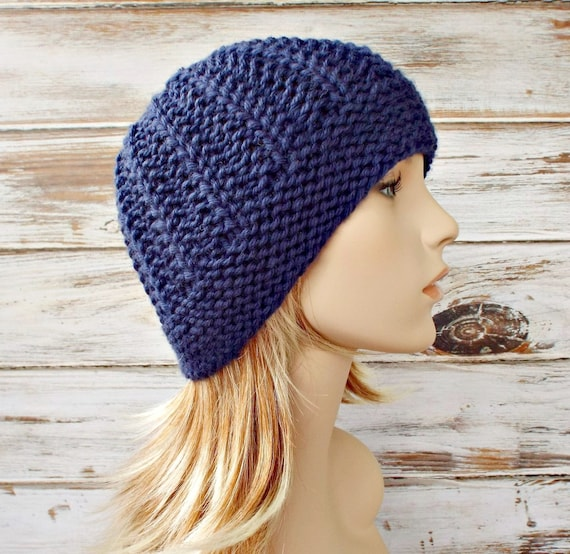 Instant Download Knitting Pattern - Womens Beanie Pattern - Knit Hat Pattern for Imogen Beanie Womens Hat Pattern - Womens Accessories