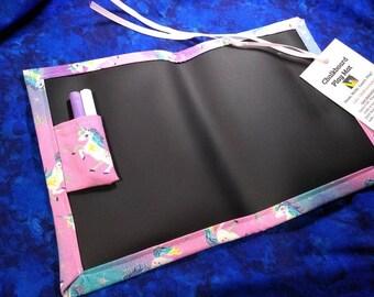 Chalkboard Mat / Small / Unicorns