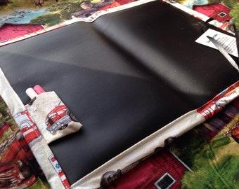 Chalkboard Mat / Large / Ambulance
