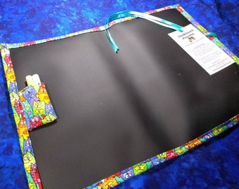 Chalkboard Mat / Large / Funny Cats
