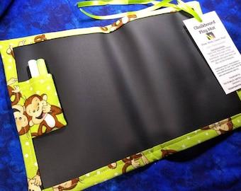 Chalkboard Play Mat / Small / Funny Monkeys