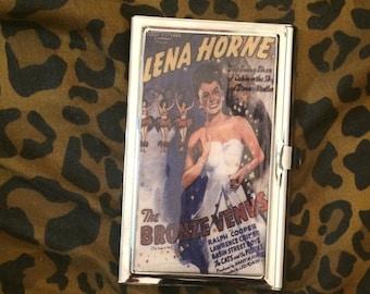 Lena Horne Bronze Venus Business Card Holder Credit Card Case