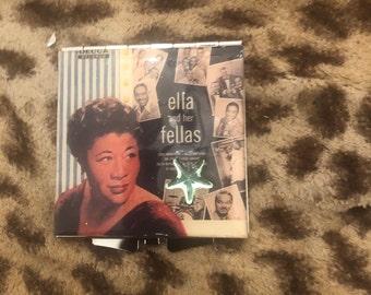 Ella Fitzgerald Ella and her Fellas Square Compact Mirror