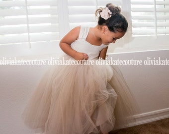 ff71a85d8a FLOWER GIRL DRESSES TULLE TUTU BEAUTIFUL by OliviaKateCouture