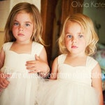 Flower Girl Dress Ivory, Flower Girl Dress, Flower Girl Dress White, Flower Girl Dress Lace, Flower Girl Boho, As Seen On Huffington Post