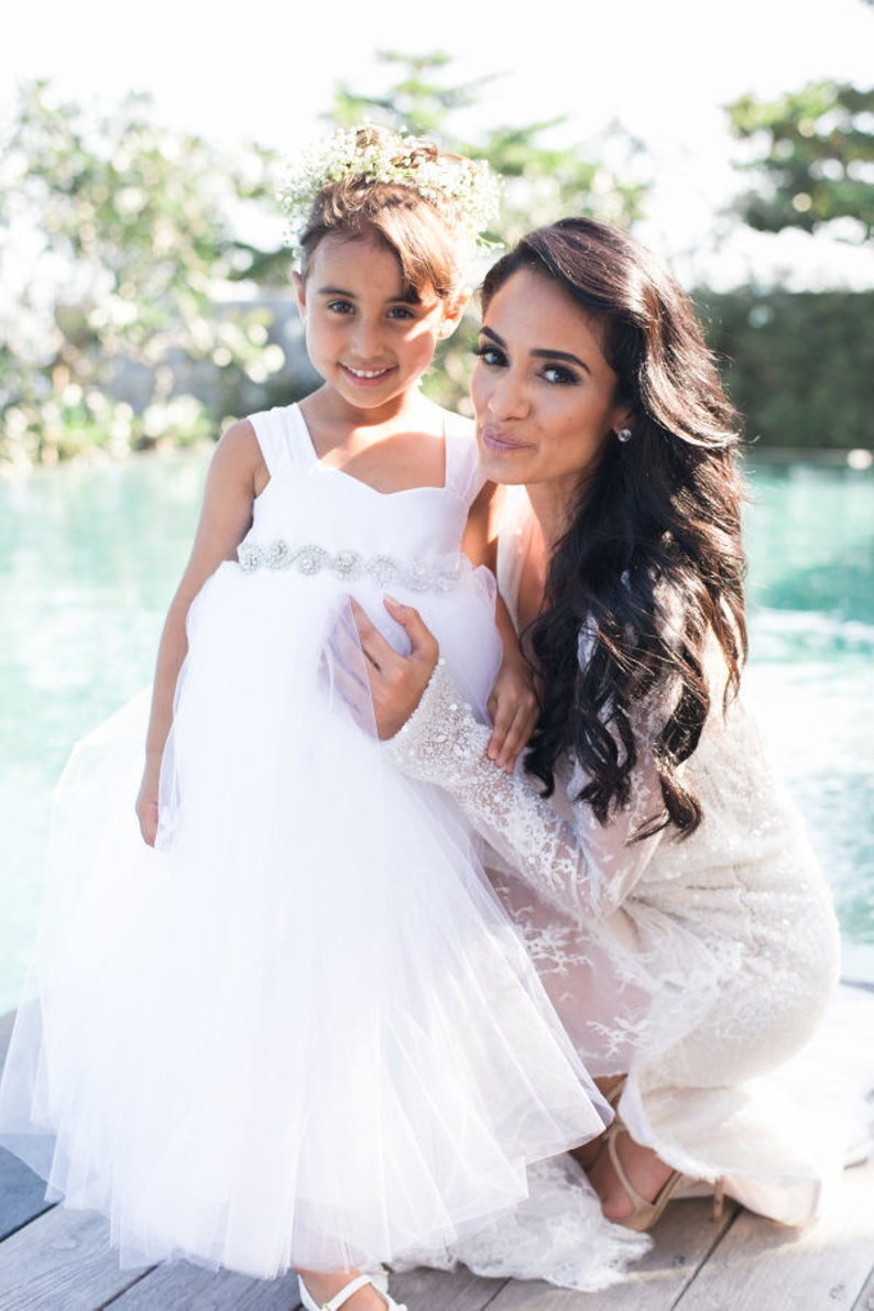 As Seen on Simply Sepi Bridestory StyleMePretty Flower Girl image 0