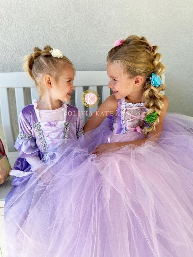Rapunzel dressgirls dresstoddler dressdisney world image 0