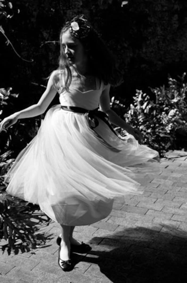 Flower Girl Dress Ballerina image 0