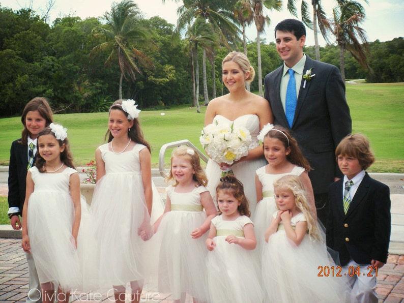Flower Girl Dress Girls Dresses Baby Dresses Wedding image 0