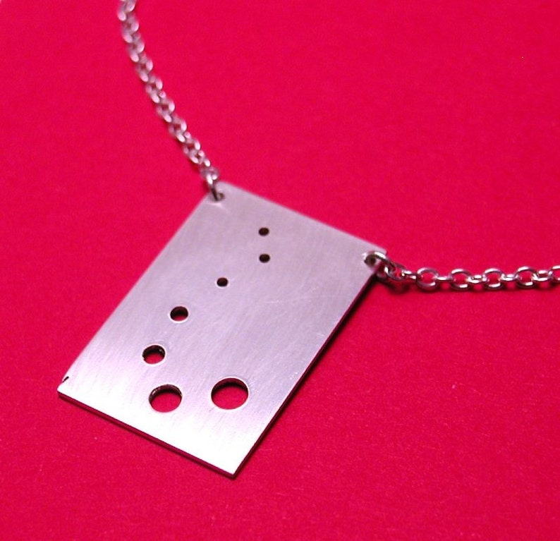The Musical Sax Necklace-Sterling Silver Artisan Handmade-17 image 0