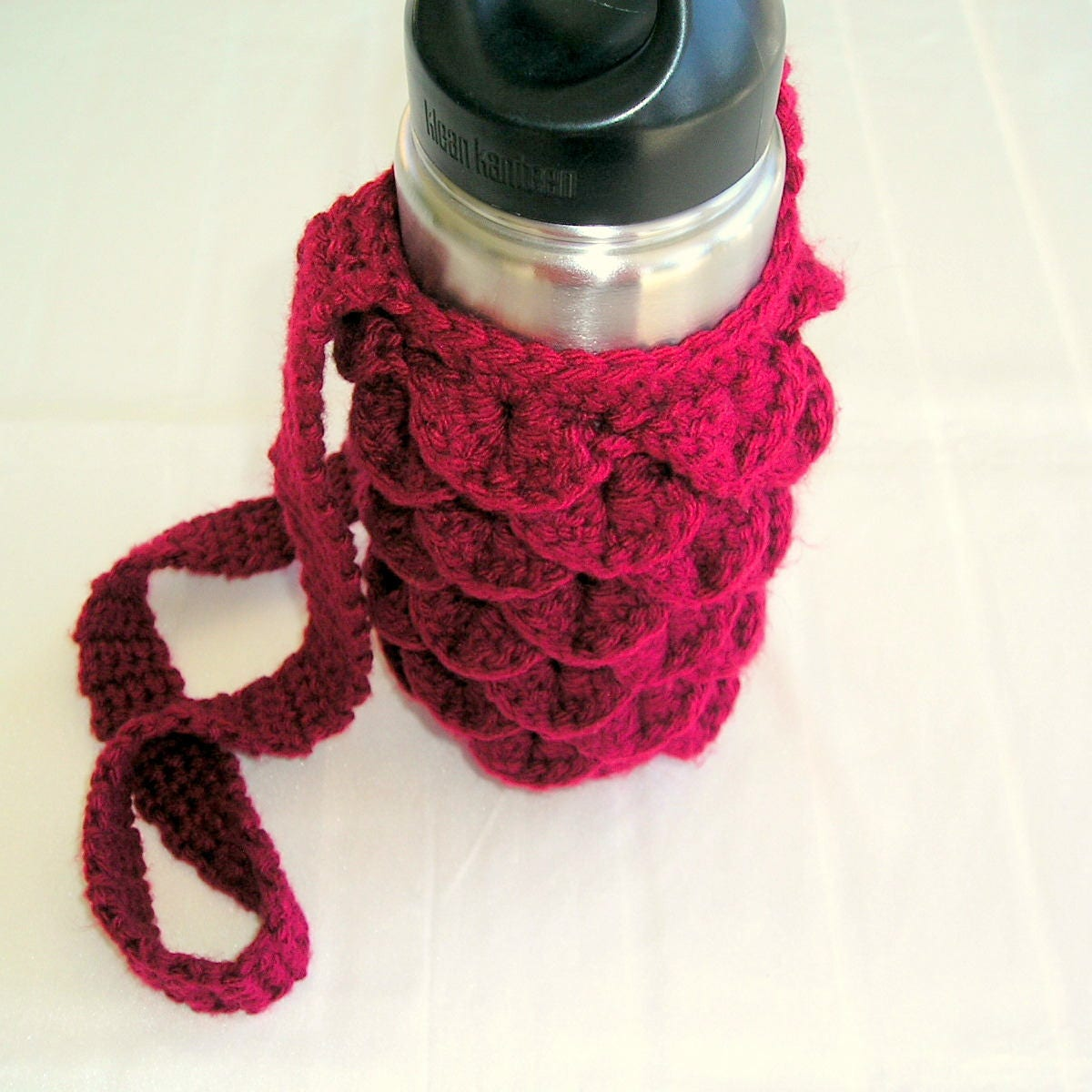 Water Bottle Cozy And To Go Cup Cozy Crochet Pdf Pattern With Etsy