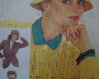 fd7023f9ee9be Sweater Knitting Pattern Cardigan Madella Patons 227 Hat Vest Women Men  Children Vintage Paper Original NOT a PDF