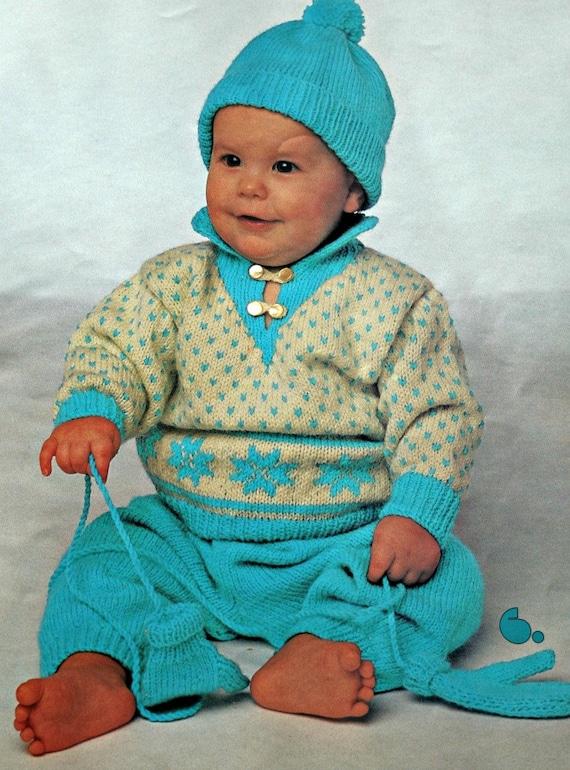 Tejer patrones niños chompas moda Togs para nenes colmena los | Etsy