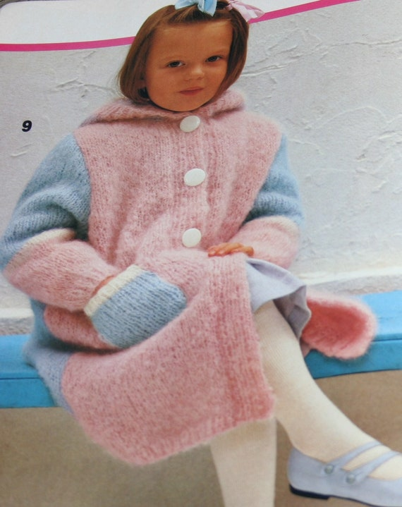 Sweater Knitting Patterns Children And Junior Fashion Phildar Etsy