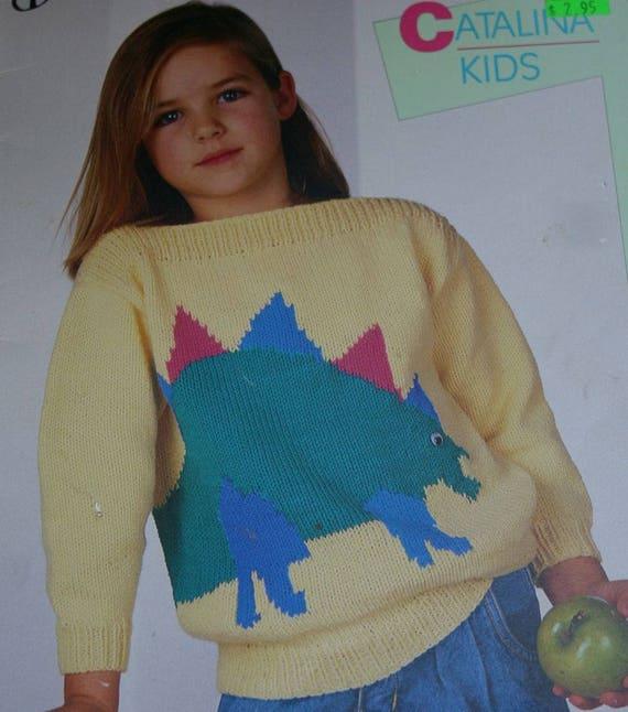 1e6ce5d12edb6 Sweater Knitting Patterns Kids Bouquet 1207 Worsted Weight