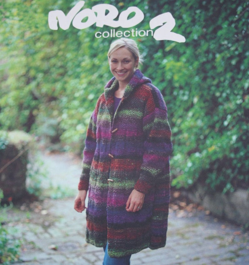0bf5cf6e44d4e5 Knitting Patterns Noro 2 by Debbie Bliss Sweaters Cardigans