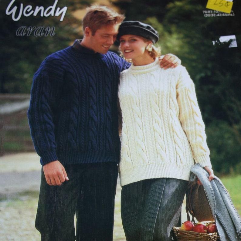 436c68176840 Sweater Knitting Pattern for Women   Men Wendy 4294 Sizes
