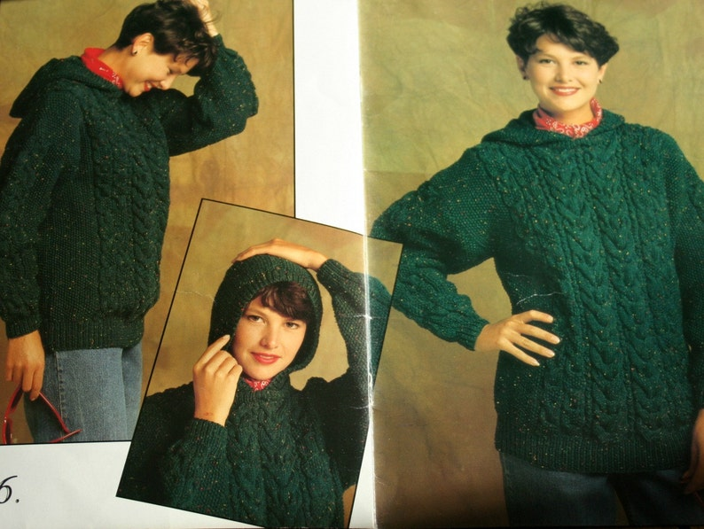 04a0248bca59e0 Sweater and Cardigan Knitting Patterns Beehive Patons 661