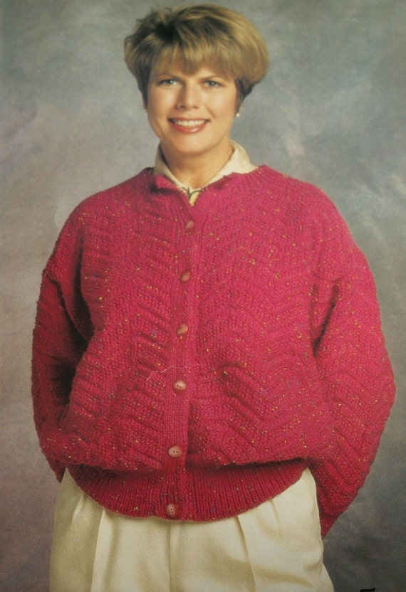 26d8f4a5fd7d95 Knitting Patterns Sweaters Cardigans Beehive Patons 661 Men