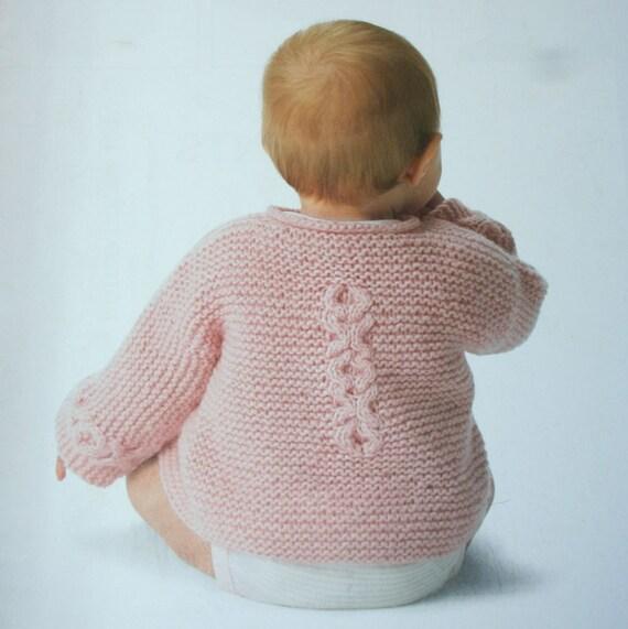 Tejidos de bebé que hace punto patrones adorables para bebés y niños ...