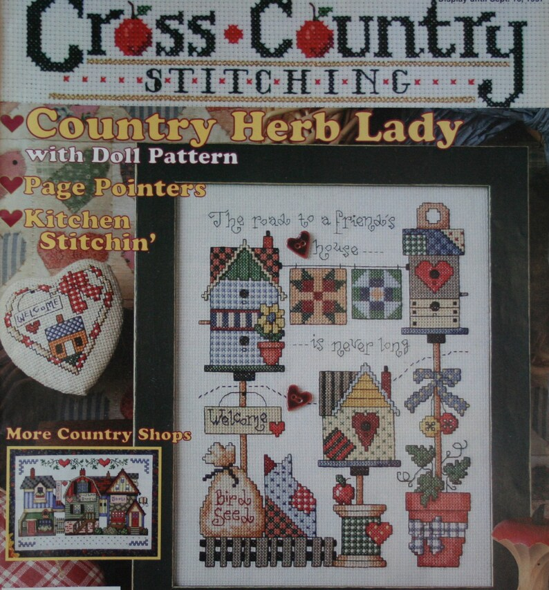 Stitcher magazine pdf cross