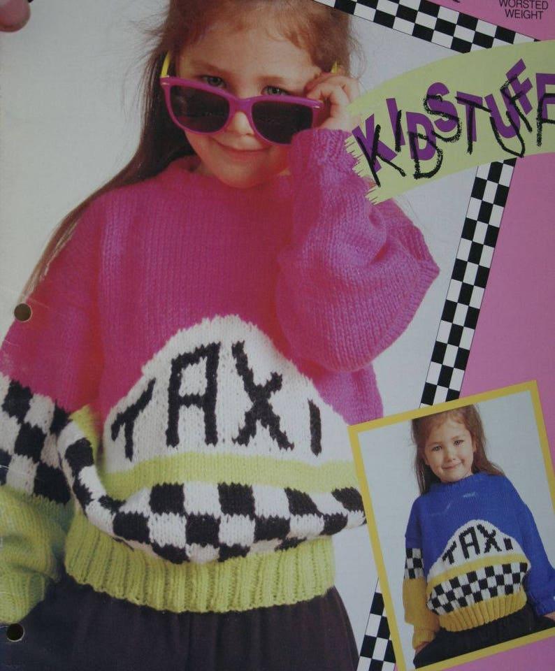 ff1dcfaf62c3c Sweater Knitting Patterns Children Taxi Balloons Bouquet 1243