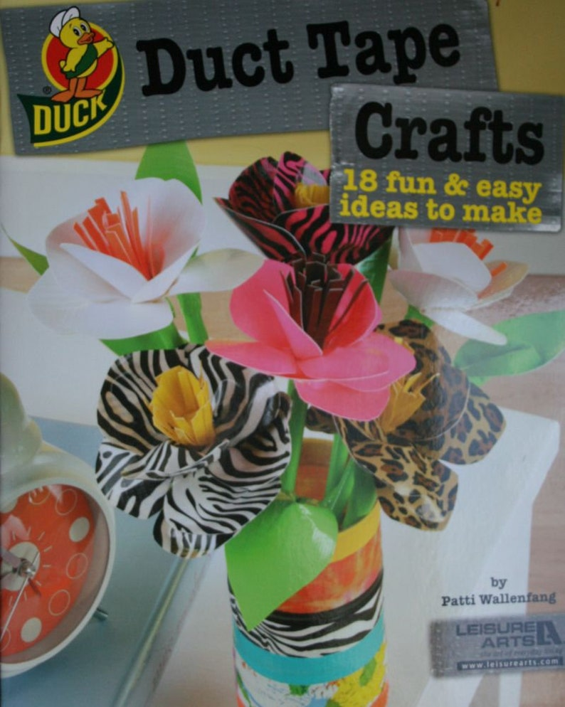 Duct Tape Craft Patterns And Instructions Sheet Of Mustache Etsy