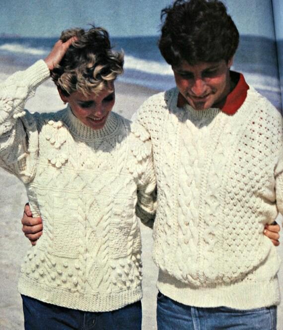 Suéter que hace punto patrones familiares grandes Ideas para | Etsy